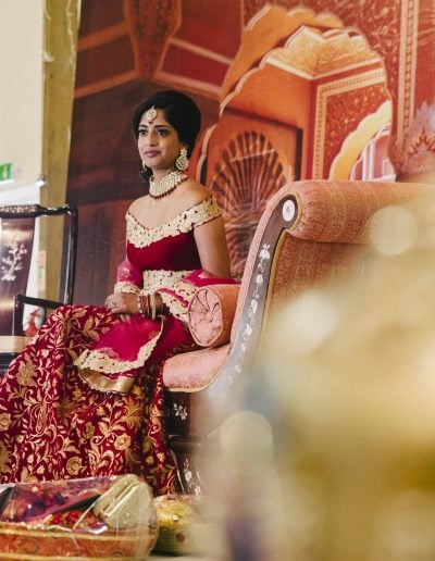 Wedding and engagement of Rishika and Chirag