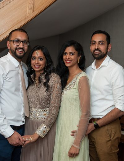Prima's Engagement in Porters bar London