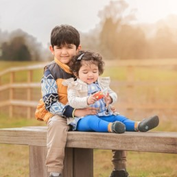 Family shoot in Stanmore country Park, harrow