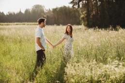 Lucy and Hayden's engagement shoot in France by Roshni Photography Harrow