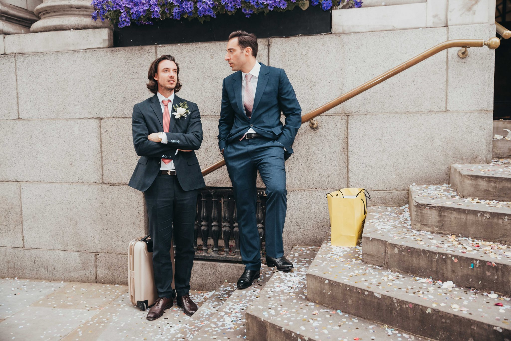 Married couple at the registry office