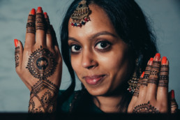 Pre-wedding Vidhi ceremony in an Indian wedding ceremony, Barnet, Potters Bar London