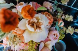 Wedding tulips and flowers