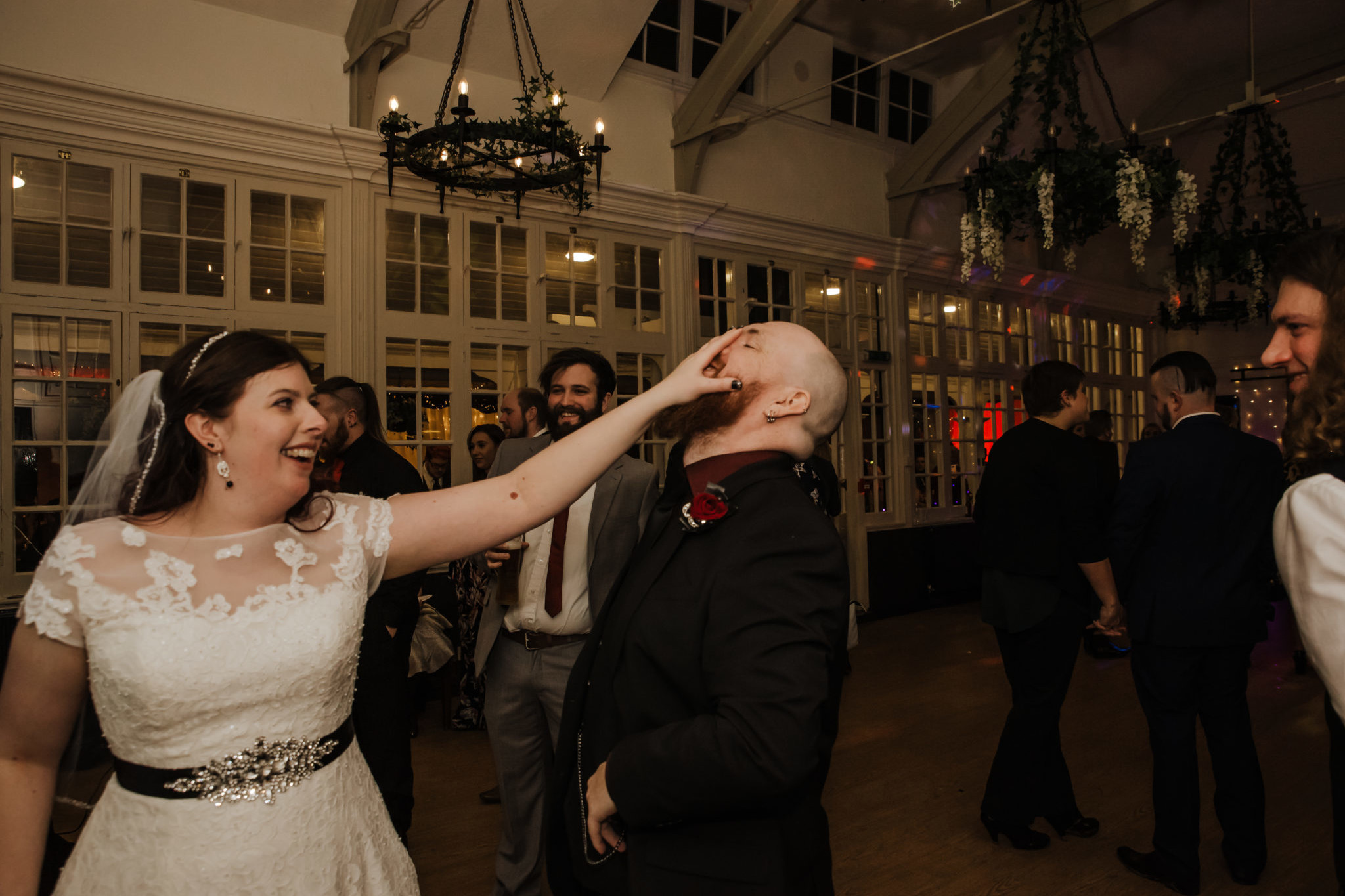 Wedding first dance at the Shenley Cricket club