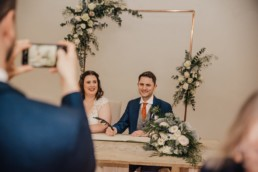 Lizzie and Gareths wedding at The Milling Barn, Bluntswood Hall, Throcking Roshni Photography