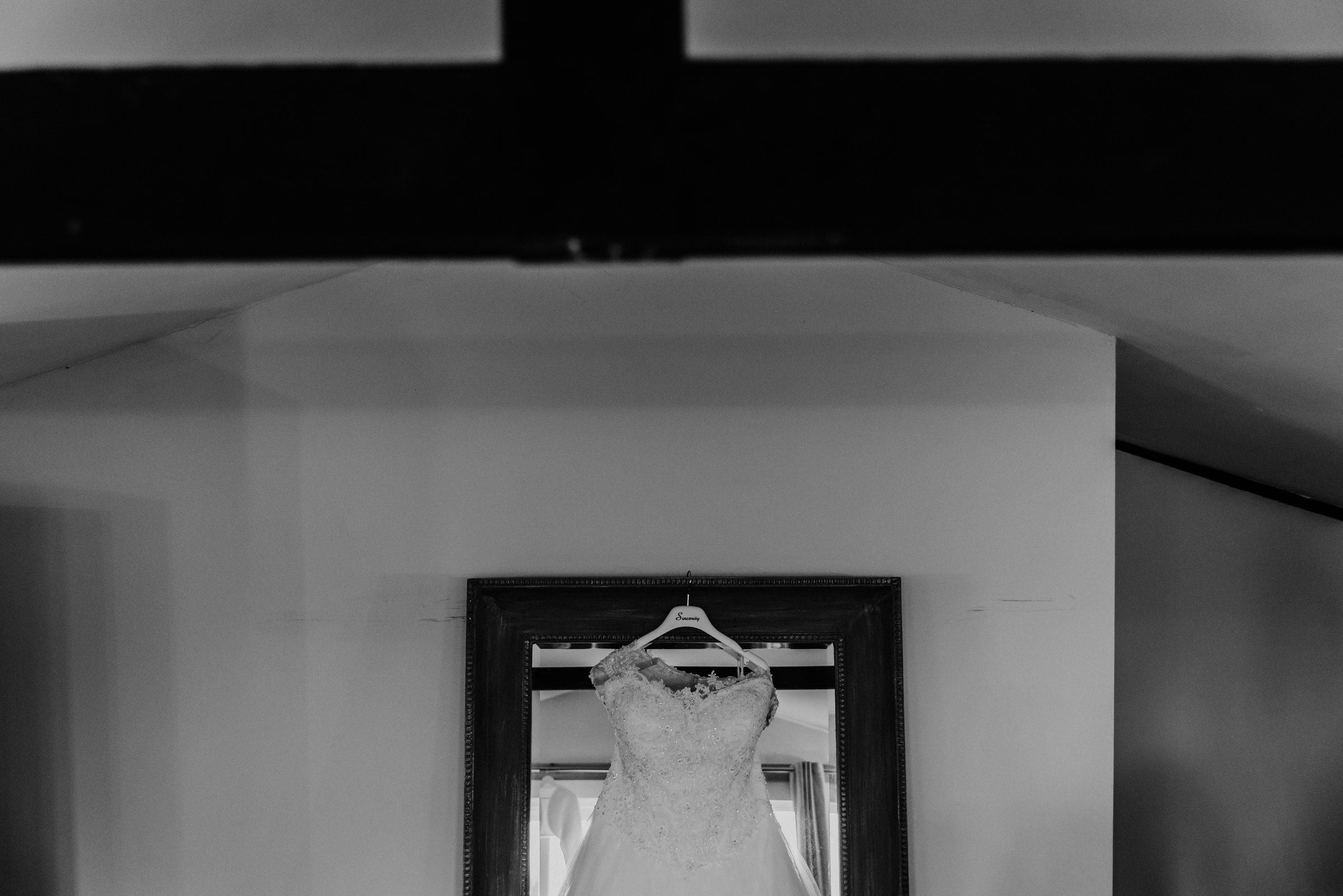 white wedding dressRoshni photography The Milling Barn, Bluntswood Hall, Throcking wedding photographer